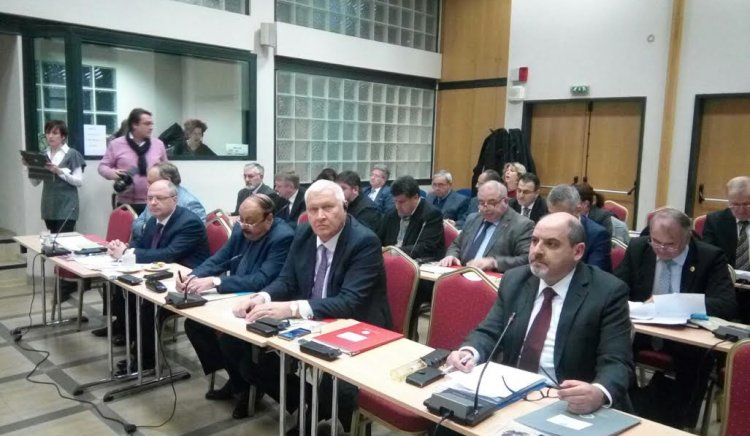 Васил Антонов участва в заседание на Интерпарламентарната асамблея по православие в Атина