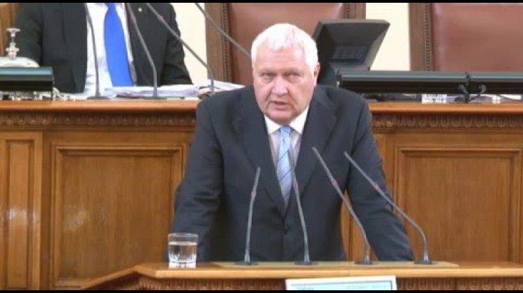 Васил Антонов с въпрос към министъра на околната среда и водите